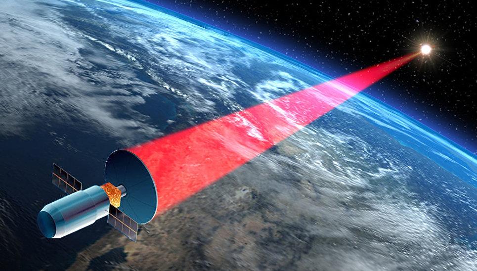 Защитный лазер от космического мусора