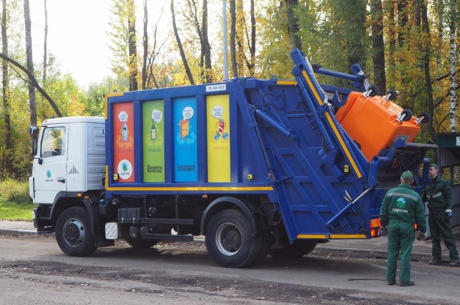 Вывоз сортированных отходов