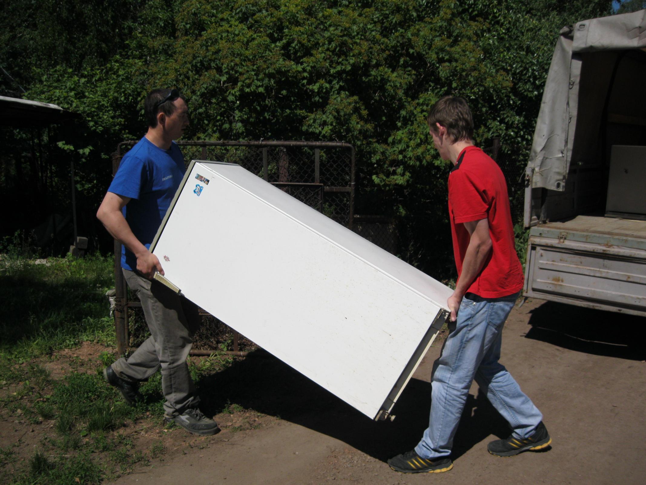 Вывоз старых холодильников