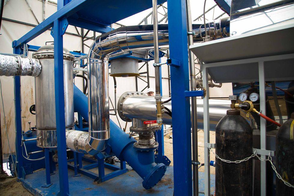 Установка по переработке нефтешламов