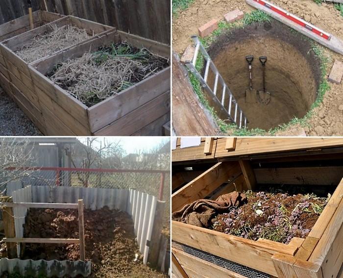 компостные ямы на зиму