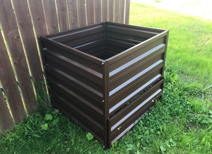 Неправильный контейнер для компоста
