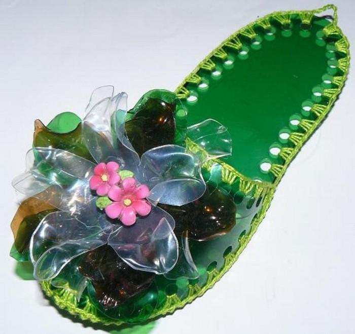 туфель из пластика