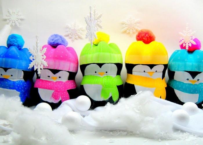 пингвины из бутылок 2