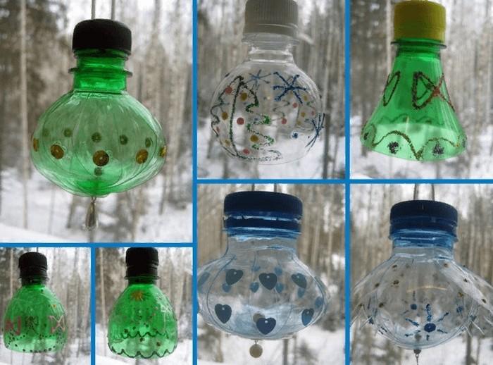 гирлянда из пластика